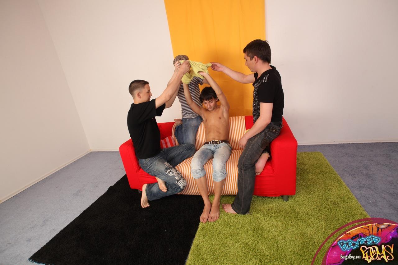 gay gang bangs orgy group sex003 Genre: Oral / Anal Sex, Group,