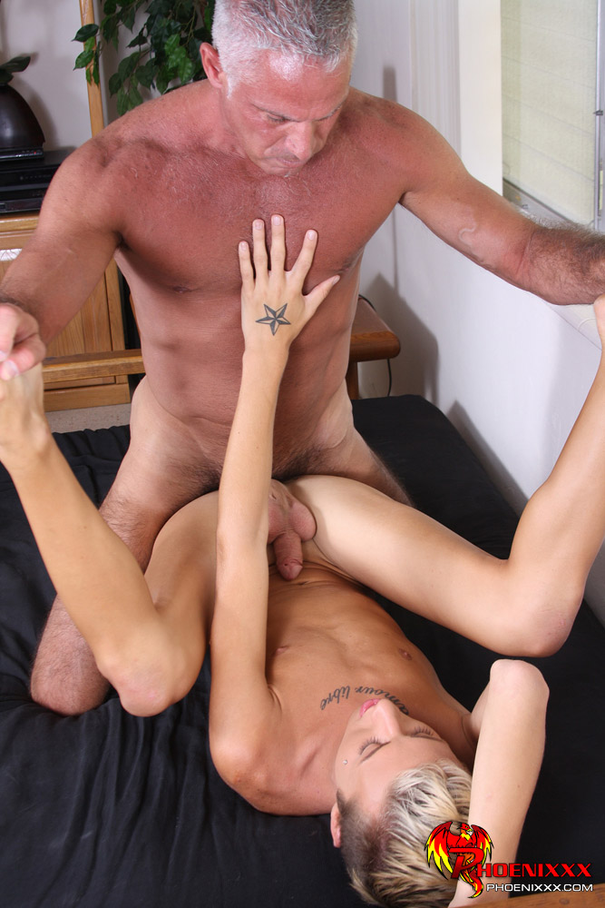 A Teen Guy With A Hairy Daddy Guy