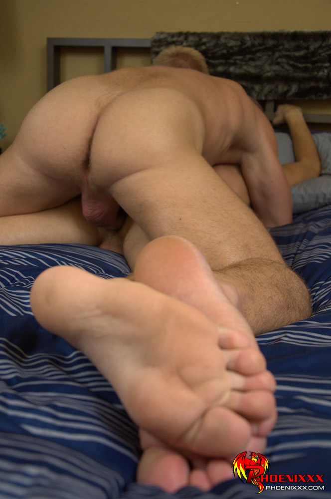 Gay naked hard spanking
