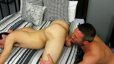 gay cums while riding huge dick