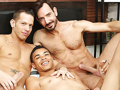 group sex lucky guy
