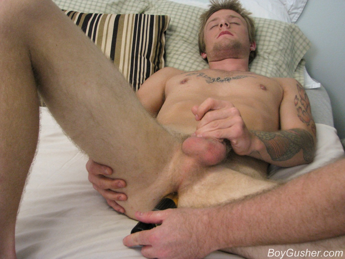 Hot, black man masturbates boy