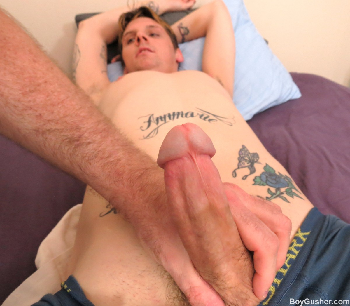 Guys jerking off mpegs gay in part 2 of