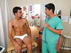 shirtless gay men medical examination