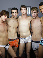 hot gay hunk group sex
