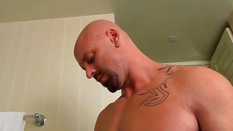 Gay black spanking white