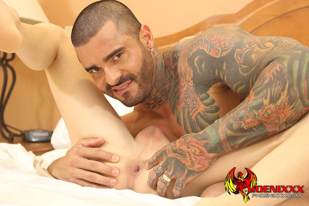 Male stripper anal