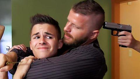 Army boys physical gay porn