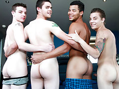 anal group gay outside