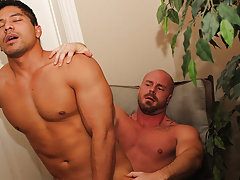 gay men shitting and jerking off at the same time