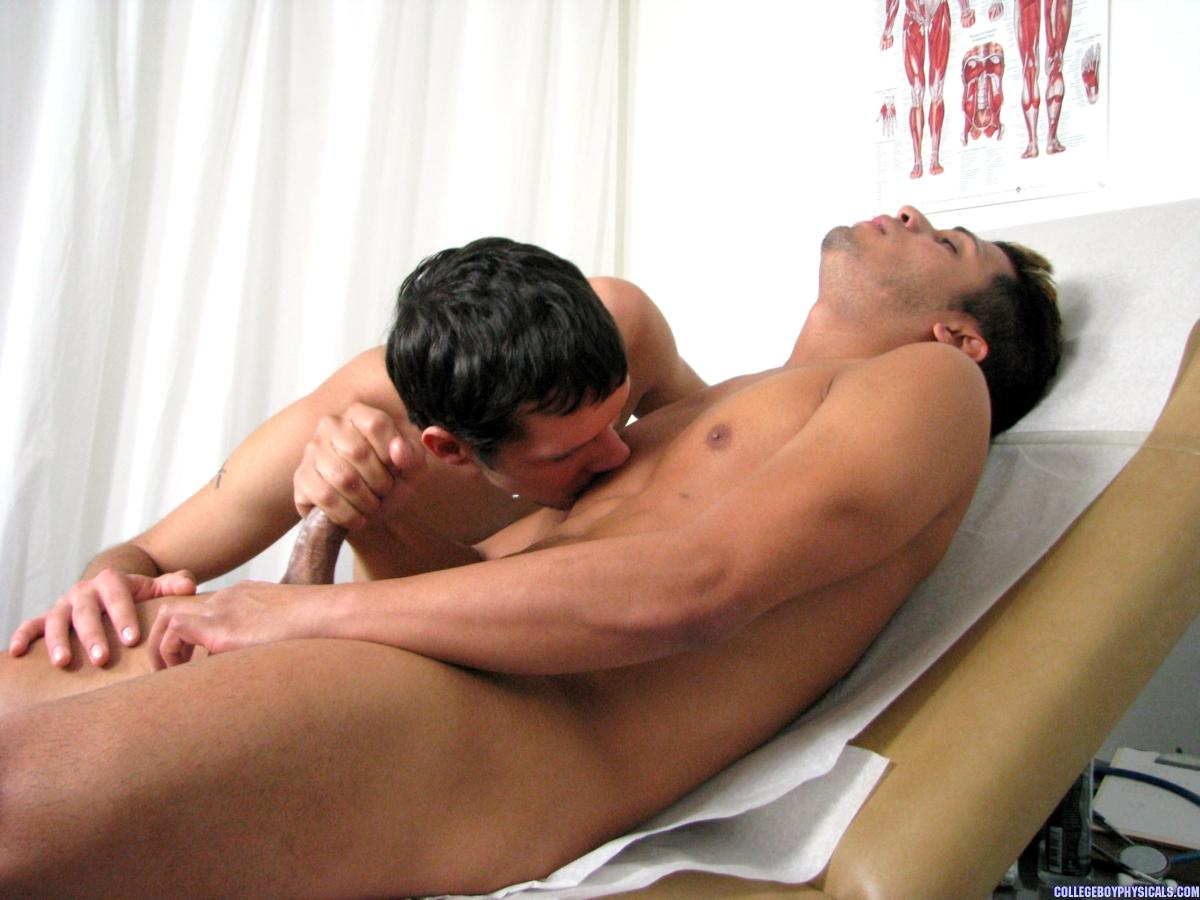College gay twink physical exam clips and 7
