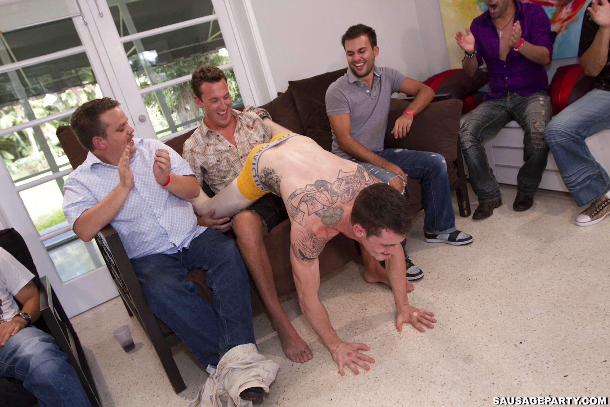 Free gay group blow job porn and guys 5