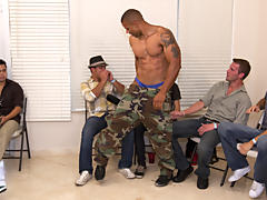 gay army group sex