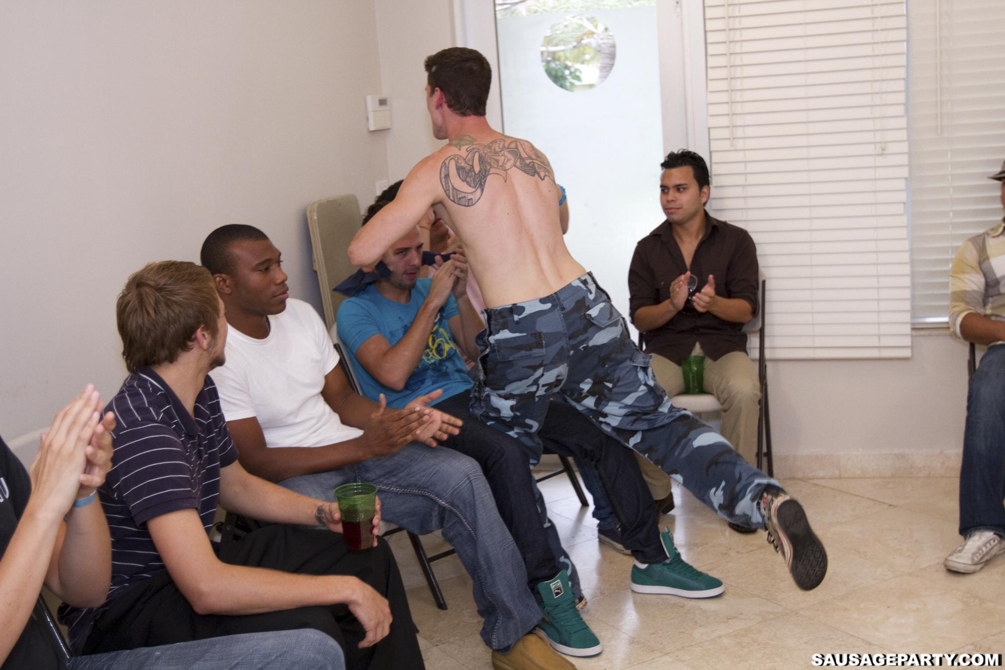 gay military gay party