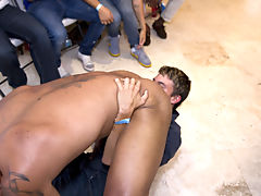 anal group orgy gay