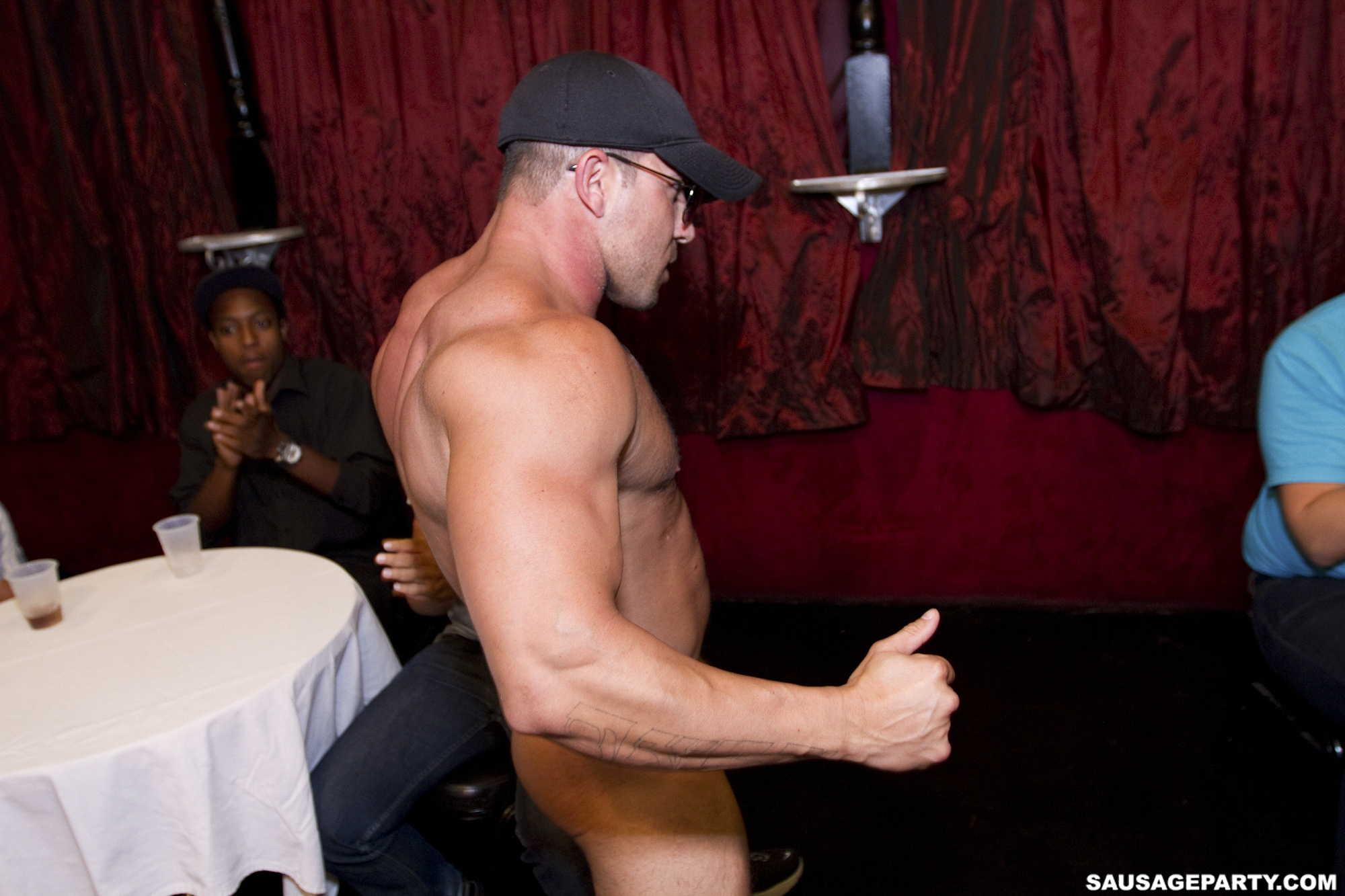 from Triston gay homo male strippers
