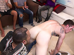 gay group sex orgy