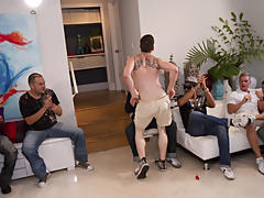 gay group shower fucking
