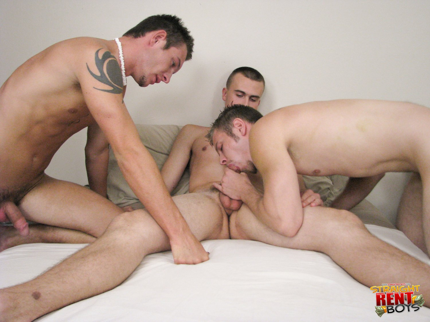 Straight Guys In Gay College Blowjob
