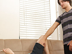hot young gay boys with facials