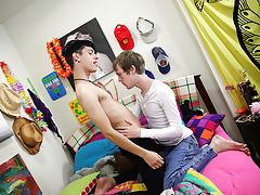 first gay teen cum eating